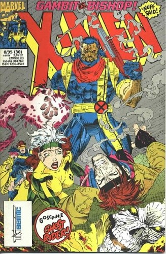 X-Men 8/1995 - Jim Lee